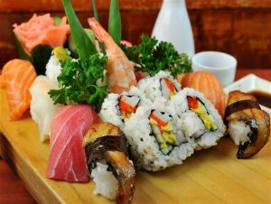 sushi en Dolcetriz León